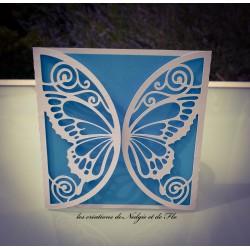 Carte - Papillon