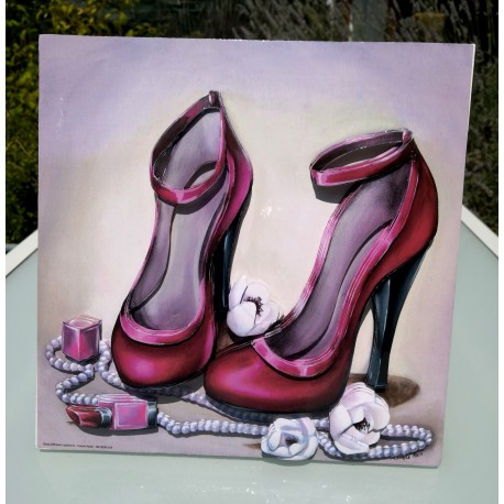 Tableau 3D Chaussures