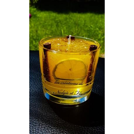 Bougie - Cocktail citron/cannelle
