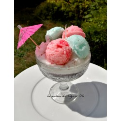 Bougie - Glace sorbet chantilly/cannelle